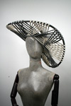 Couture string art sunhat